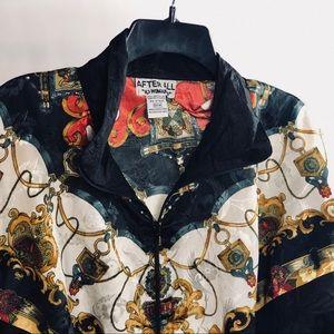 Jackets & Blazers - Vintage Chain like windbreaker